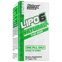 Nutrex Lipo 6 Natural 60 veg caps