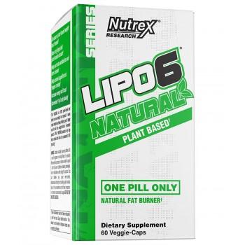 Nutrex Lipo 6 Natural 60 veg caps