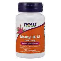 Now Methyl B-12 1000 mg 100 lozenges
