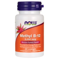 Now Methyl B-12 5000 mcg 60 lozenges