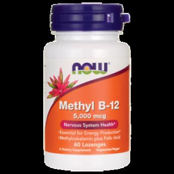 Now Methyl B-12 5000 mcg 60 lozenges