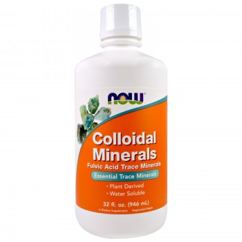 Now Colloidal Minerals  946 ml
