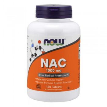 Now NAC 1000 mg 120 tab
