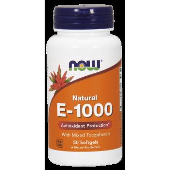 Now Natural E 1000 50 softgels