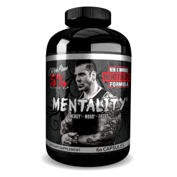 5 Nutrition by Rich Piana Rich Piana 5% Nutrition Mentality Nootropic Formula 60 caps