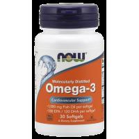 Now Omega 3 30 softgels
