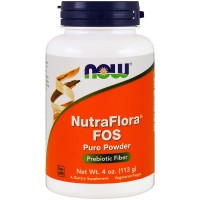 Now NutraFlora®  Fos Pure Powder 113 g