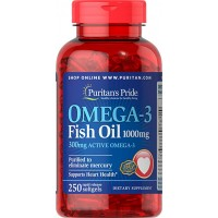 Puritan`s Pride Omega 3 Fish Oil 1000mg 250 softgel