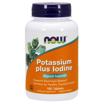Now Potassium Plus Iodine 180 tab