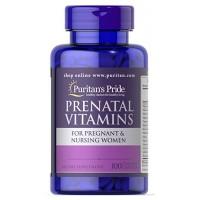 Puritan`s Pride Prenatal Vitamins 100 caps