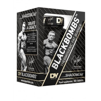 Dorian Yates BlackBombs Thermogenic Fat Burner New Version 60 tab