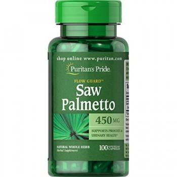 Puritan`s Pride Saw Palmetto 450 mg 100 caps