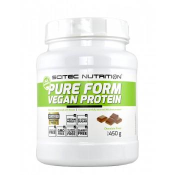 Scitec Pure Form Vegan Protein 450 g