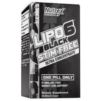 Nutrex Lipo 6 Black Stim-Free Ultra Concentrate 60 caps