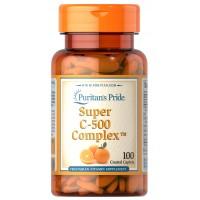 Puritan`s Pride Super C-500 Complex 100 caplets