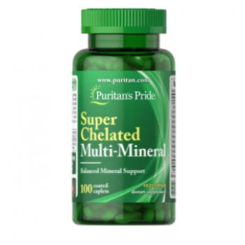 Puritan's Pride Super Chelated Multi-Mineral 100caps