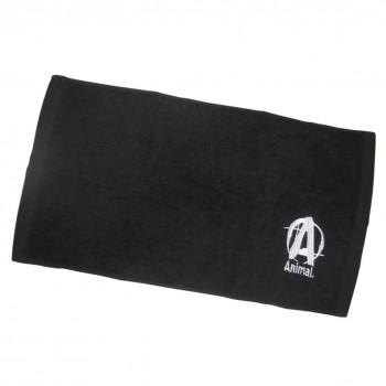 Universal Animal Towel Logo 46x27 cm Negru