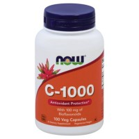 Now C-1000 with 100 mg of Bioflavonoids 100 veg caps