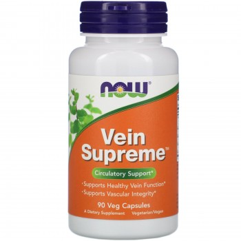 Now Vein Supreme 90 veg caps
