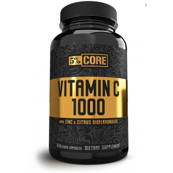 5% Nutrition Vitamin C  Core series 240 vcaps