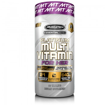 Muscletech Platinum Multi Vitamin for Her 90 tab