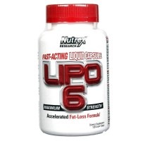 Nutrex Lipo 6 Max Strenght 120 caps