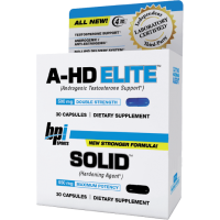 BPI A-HD Elite + Solid 30+30 caps