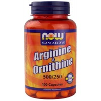 Now Arginine & Ornithine 100caps