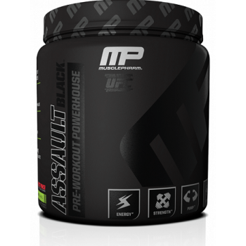 MusclePharm Assault Black 30 serv