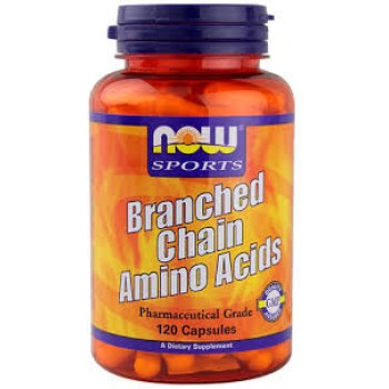Now Branched Chain Amino Acids 120 caps