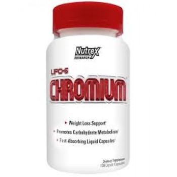 Nutrex Lipo 6 Chromium 100 liquid caps