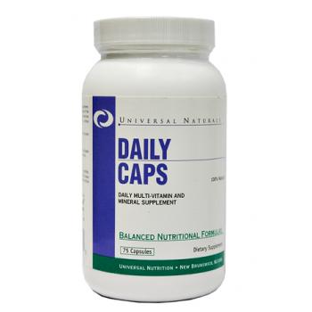 Universal Daily Caps 75 caps