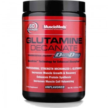 MuscleMeds Glutamine Decanate Unflavored 300 g