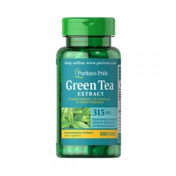 Puritan`s Pride Green Tea Standardized Extract 315 mg 100 cps