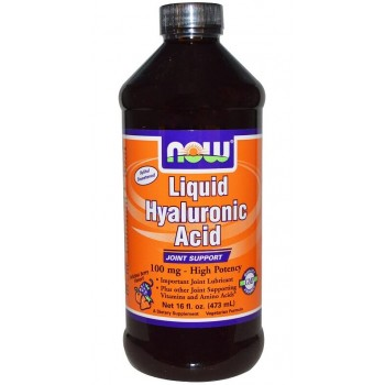 Now Liquid Hyaluronic Acid 473 ml
