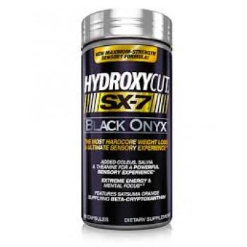 Muscletech Hydroxycut SX 7 Black Onyx 80 caps