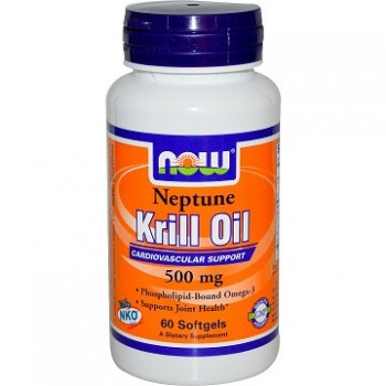 Now Krill Oil Neptune 60 softgels