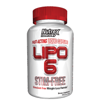 Nutrex Lipo 6 Stim Free 120 liquid caps