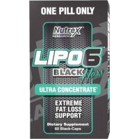 Lipo 6 Black Hers Ultraconcentrate New Formula US 60 caps