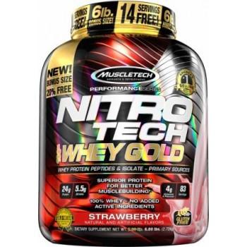 Muscletech Nitro Tech Whey Gold 2.72 kg USA