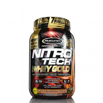 Muscletech Nitro Tech Whey Gold 1.135 kg USA