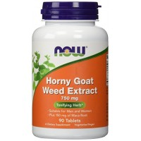 Now Horny Goat Weed Extract 750 mg 90 tab