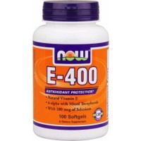 NOW Vit E 400   100 softgels