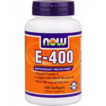 NOW Natural E 400  100 softgels