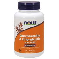 Now Glucosamine & Chondroitin + MSM 90caps