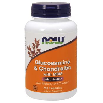 Now Glucosamine & Chondroitin + MSM 90 caps