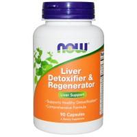 Now Liver Detoxifier & Regenerator 90 caps