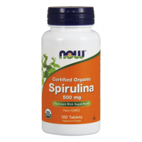 Now Spirulina 100 tab