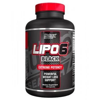 Nutrex Lipo 6 Black 120 capsule