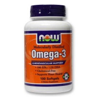 Now Omega 3 100 softgels